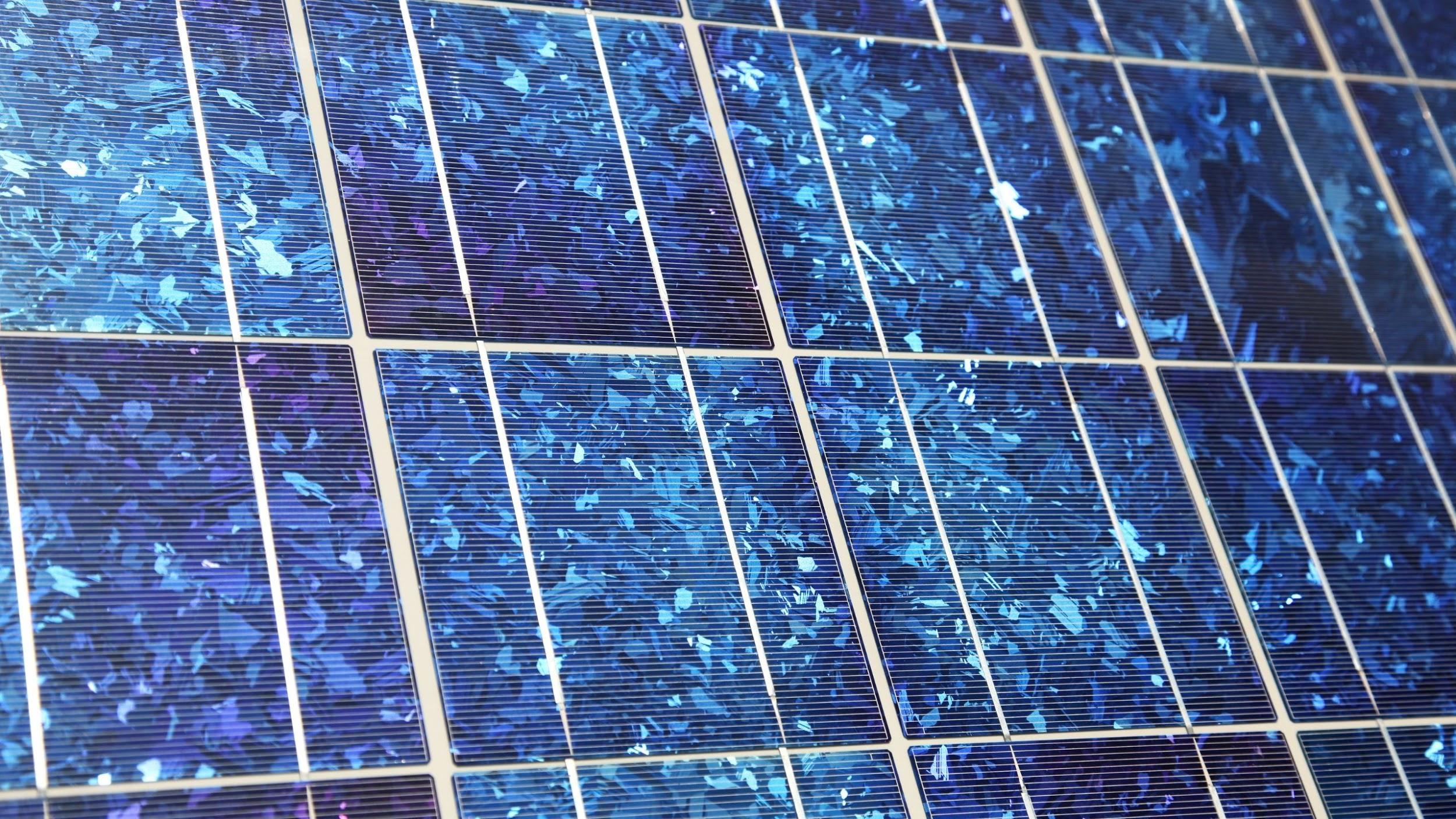 blue Polycrystalline Solar Panels