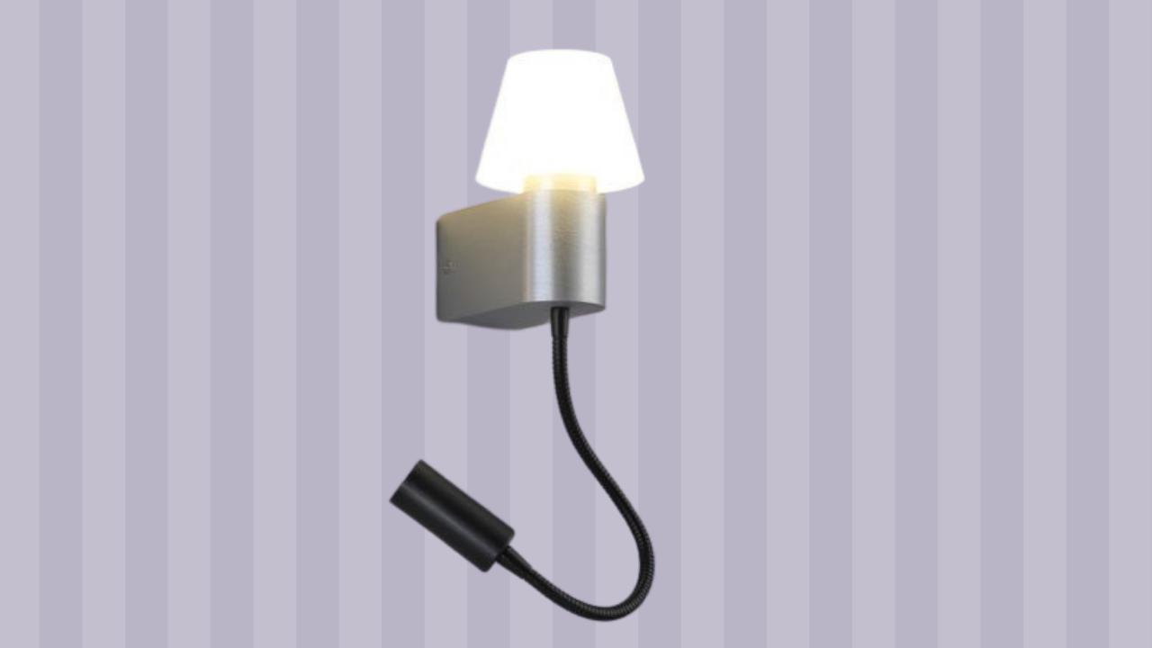 hite and black led wall light