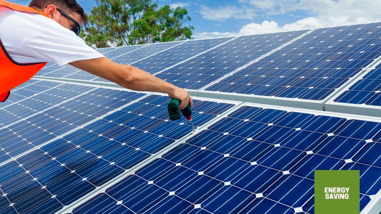 solar panel installation home improvements