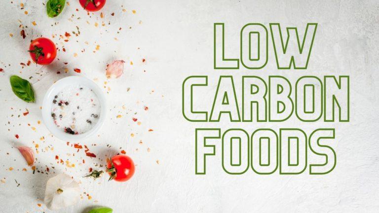 low carbon food